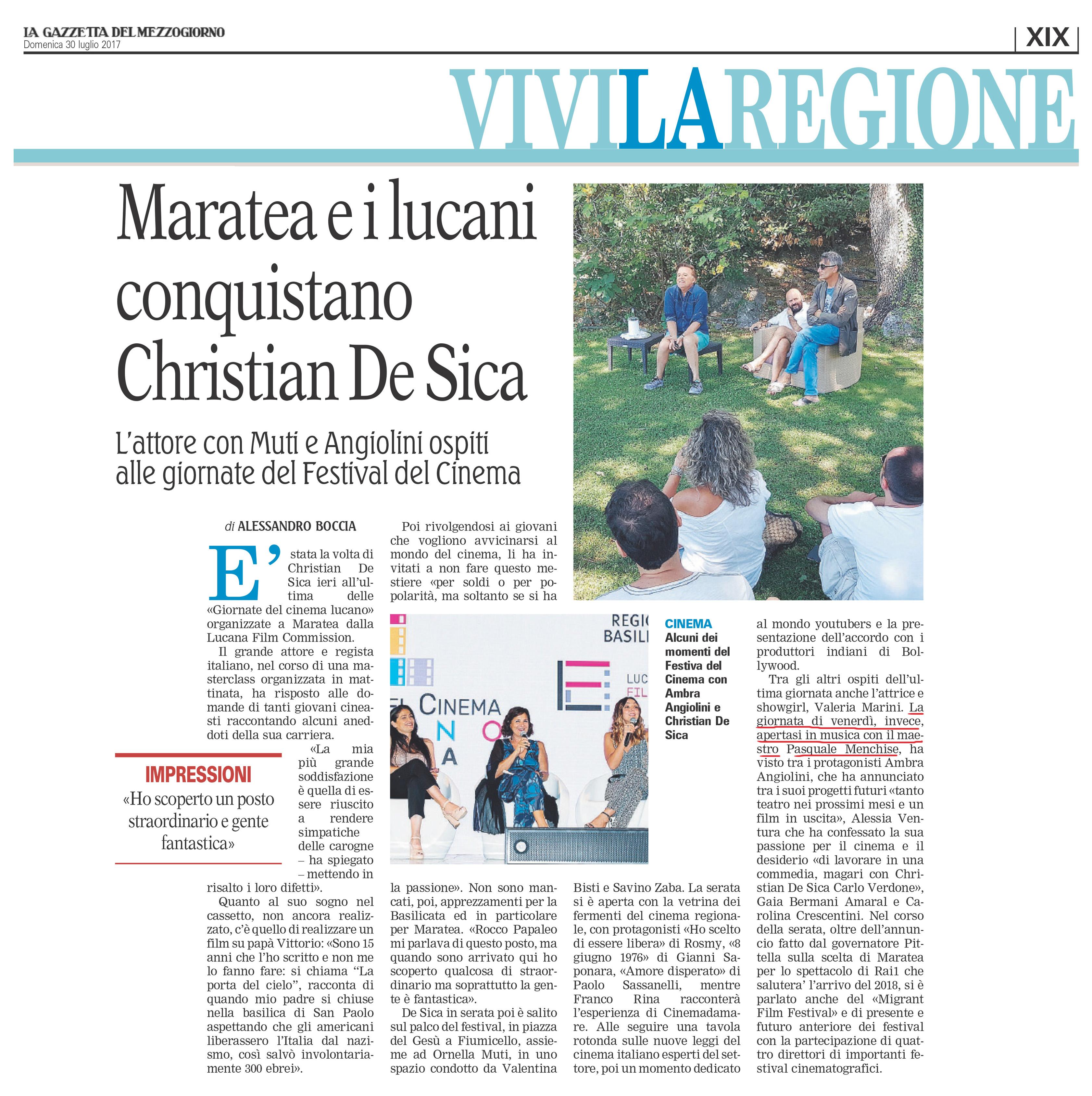 5_La Gazzetta_30 luglio_Matarea