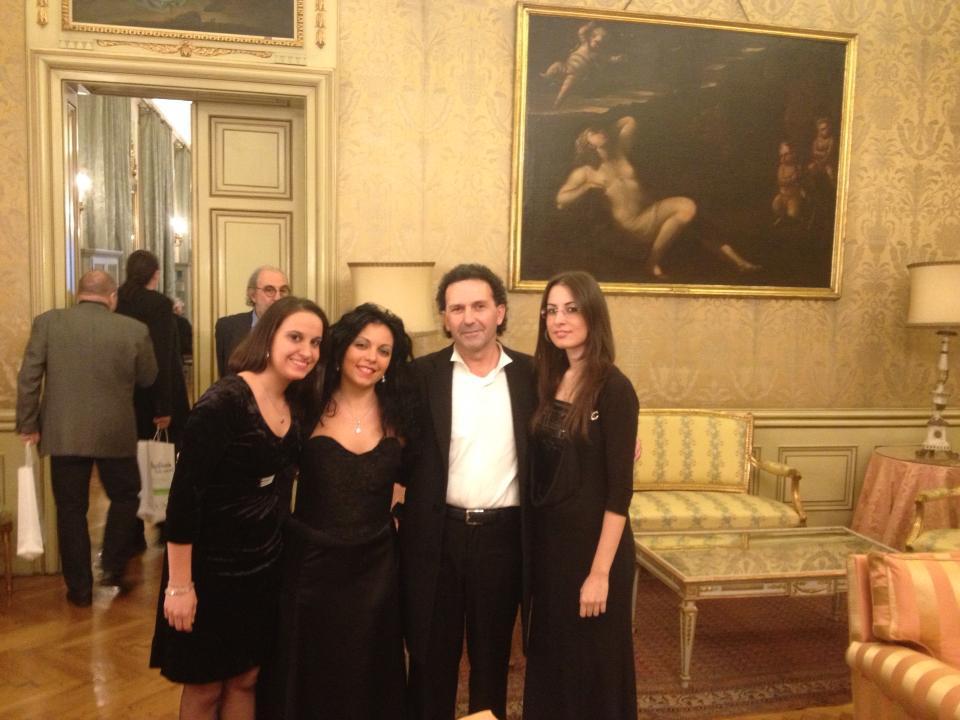 A Vienna prima del concerto