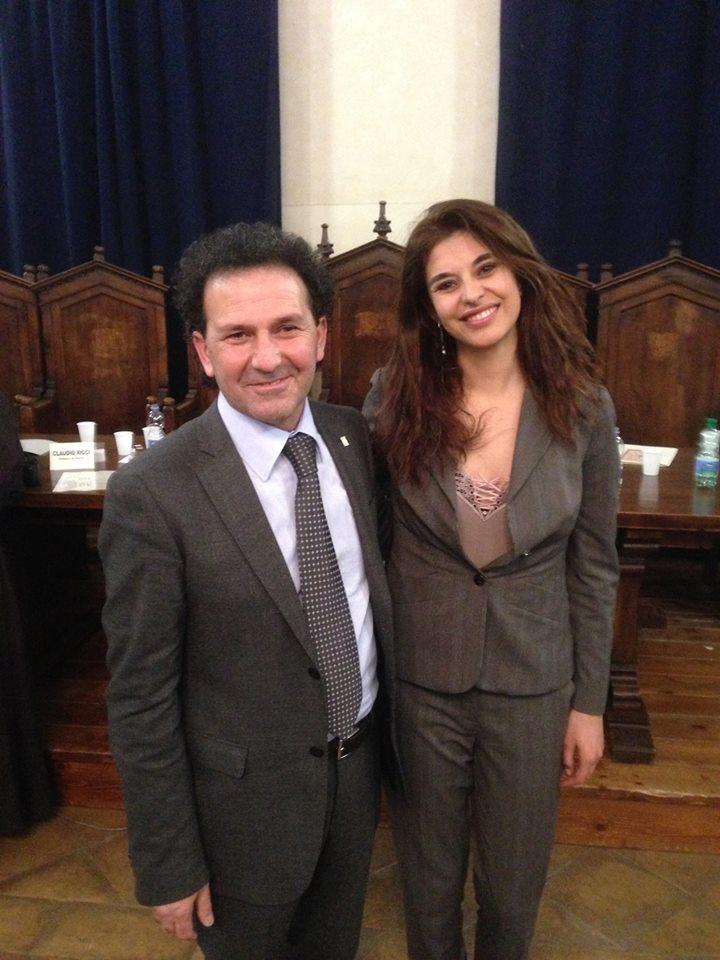 Benedetta Rinaldi, conduttrice RAI uno