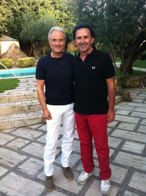 Con Amedeo Minghi