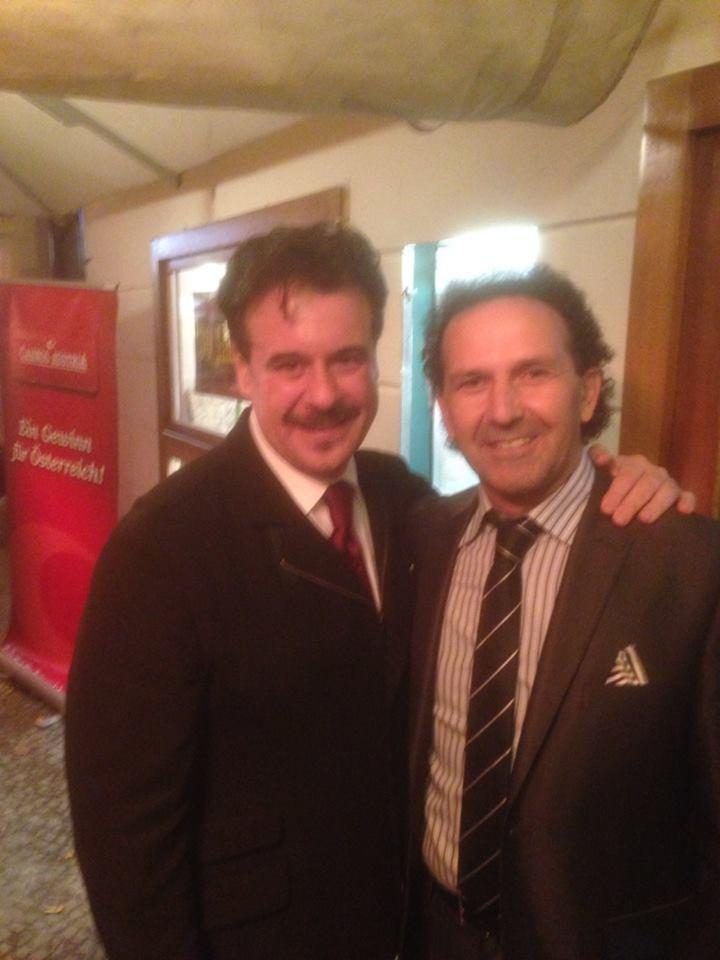 Con Carlos Alvarez
