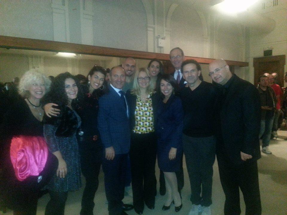 Dopo lo spettacolo al NY City Center