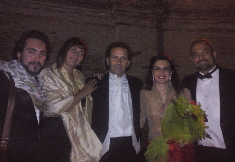 I 4 cantanti del concerto 31 agosto 2014