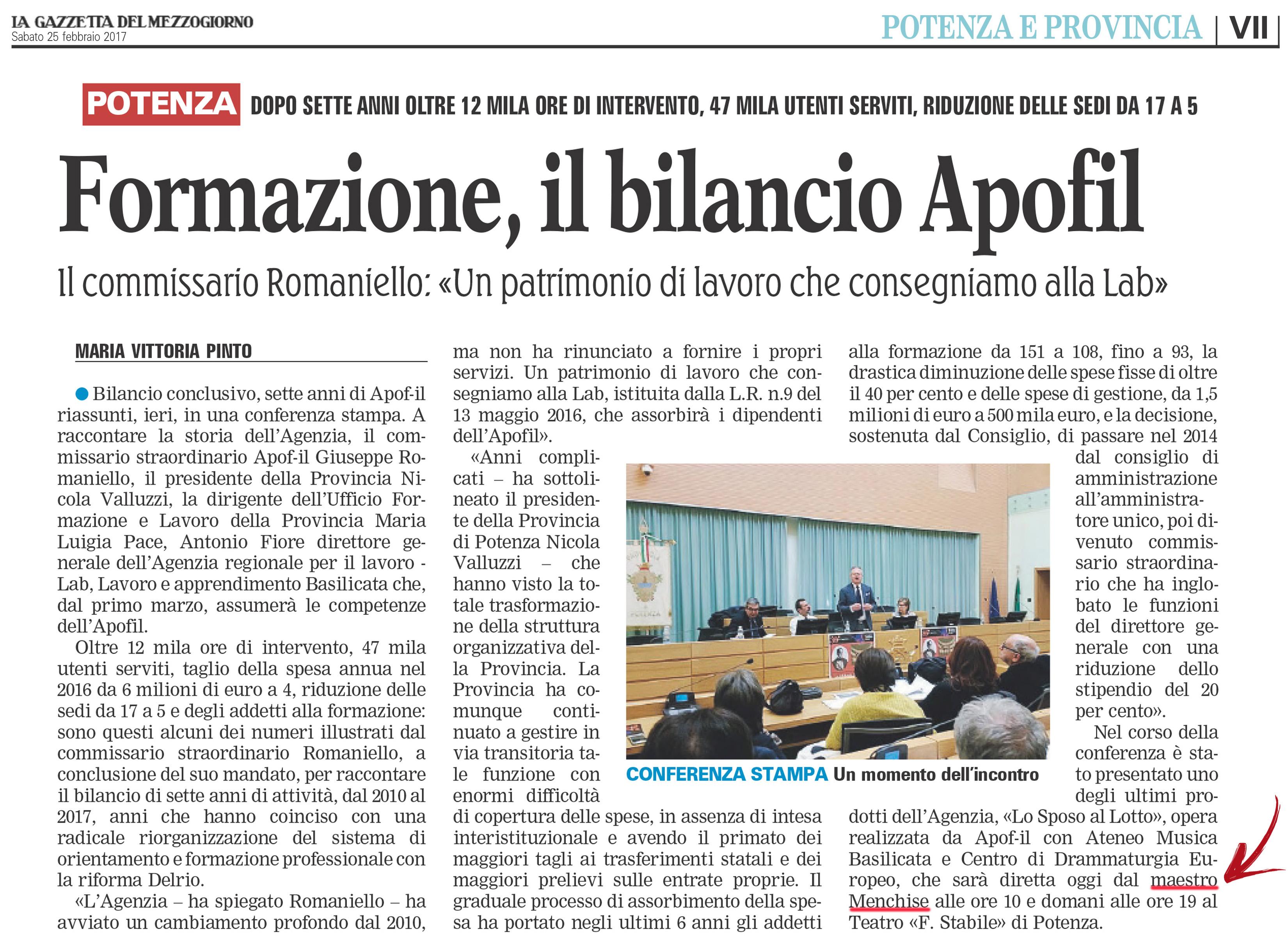 La Gazzetta_25 febbraio 2017