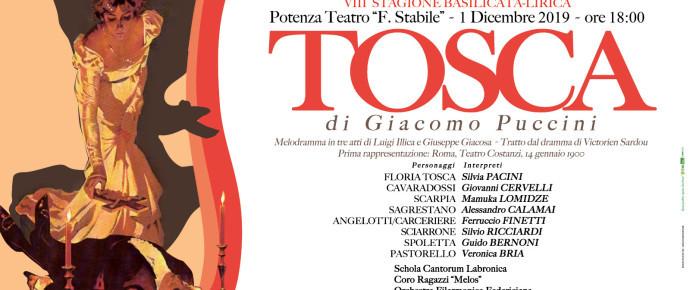 """Il M°Menchise Direttore artistico di """"Tosca"""", 1 dicembre al Teatro """"Stabile"""" di Potenza"""