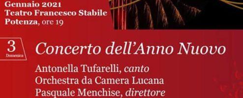 Concerto dell'Anno nuovo al teatro Stabile e in streaming