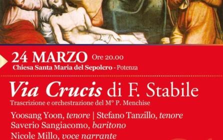 """La """"Via crucis"""" di Stabile trascritta e orchestrata dal M°Menchise"""